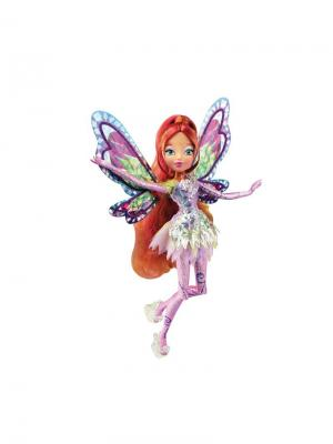 Кукла Winx Club Тайникс Flora. Цвет: рыжий, фиолетовый