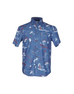 Pубашка ALTAMONT. Цвет: пастельно-синий