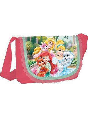 Сумочка Disney Princess. Цвет: розовый, морская волна