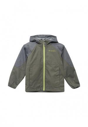 Куртка Columbia. Цвет: хаки