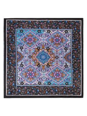 Платок Labbra. Цвет: черный, голубой, светло-коричневый