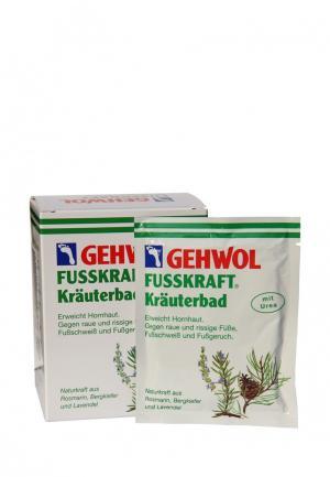 Ванна травяная для ног Gehwol. Цвет: зеленый