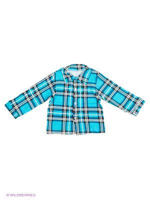 Рубашка Babycollection. Цвет: зеленый