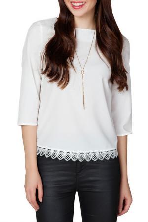 Блуза Ambigante. Цвет: cream