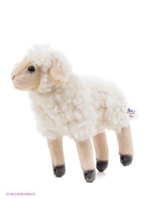 Овца 17 см Hansa. Цвет: светло-бежевый