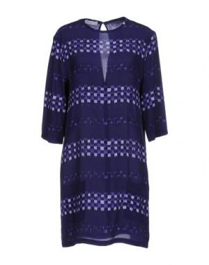 Короткое платье EQUIPMENT FEMME. Цвет: фиолетовый