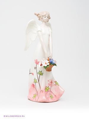 Фигурка Ангел Pavone. Цвет: белый, светло-бежевый, розовый