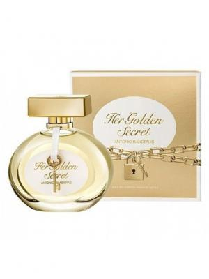 Golden Secret lady edt 50 ml ANTONIO BANDERAS. Цвет: золотистый