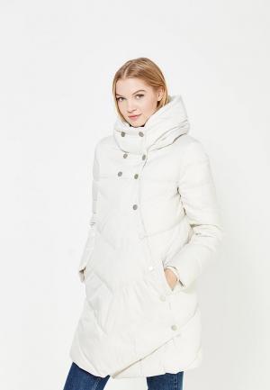 Куртка утепленная Tom Farr. Цвет: белый