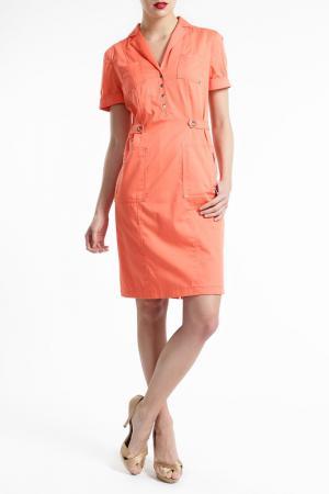 Платье Basler. Цвет: оранжевый