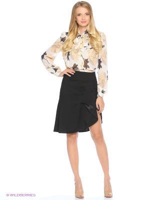 Блуза MARY MEA. Цвет: молочный, серый, коричневый, бежевый