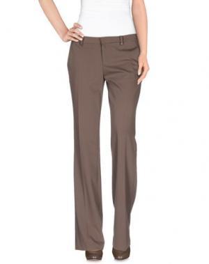 Повседневные брюки MASSIMO REBECCHI. Цвет: хаки
