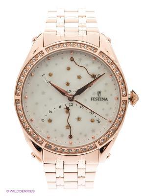 Часы Festina RETRO. Цвет: золотистый