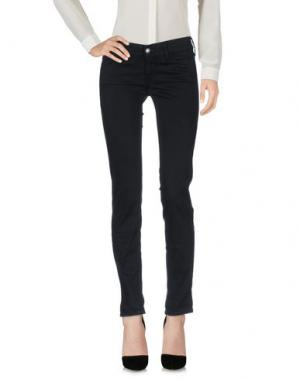 Повседневные брюки HTC. Цвет: черный
