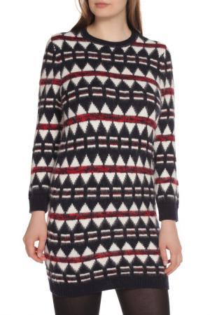 Вязаное полуприлегающее платье DSquared2. Цвет: 001j