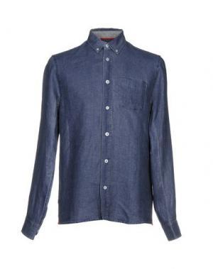Джинсовая рубашка BLAUER. Цвет: синий