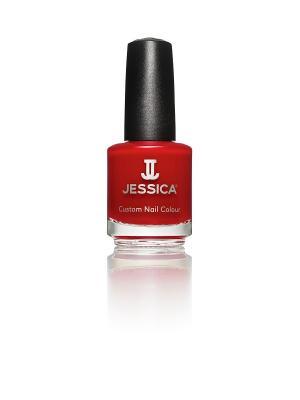 Лак для ногтей  #521 Rosso Passioni, 14,8 мл JESSICA. Цвет: красный
