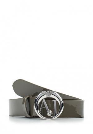 Ремень Armani Jeans. Цвет: серый