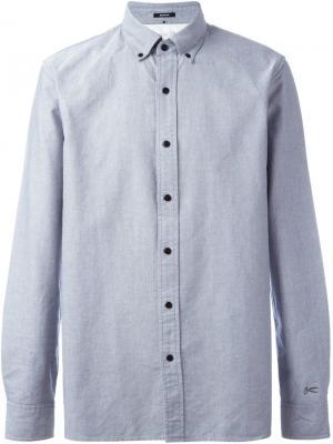 Рубашка Ryhs Denham. Цвет: серый