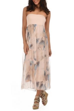 Платье Lila Rose. Цвет: розовый