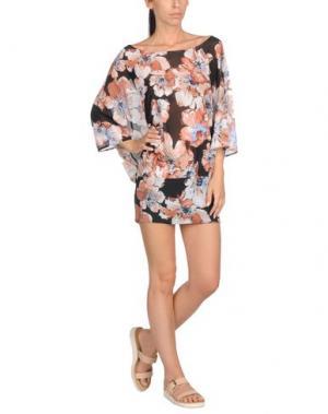 Пляжное платье FISICO. Цвет: бежевый
