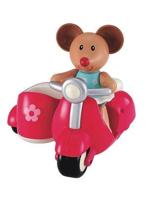 Мышка на розовом скутере (TB) ELC. Цвет: розовый