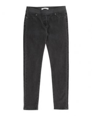 Джинсовые брюки TO BE TOO. Цвет: свинцово-серый