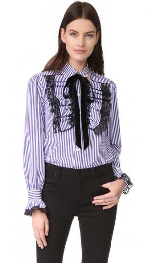 Блуза с длинными рукавами Marc Jacobs. Цвет: фиолетовый