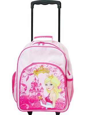 Рюкзак Солнечные путешествия Принцесса. Цвет: розовый