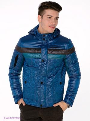 Куртка TOM FARR. Цвет: синий