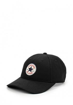 Бейсболка Converse. Цвет: черный