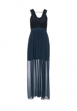 Платье BCBGeneration. Цвет: бирюзовый