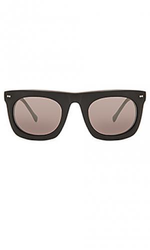 Солнцезащитные очки bergen Steven Alan. Цвет: черный