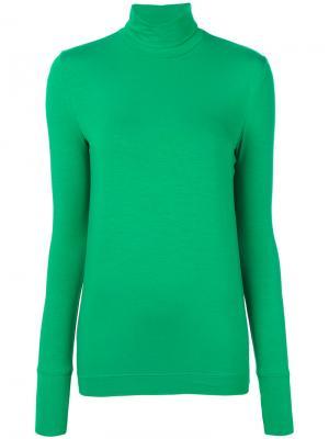 Turtle neck jumper Veronique Branquinho. Цвет: зелёный