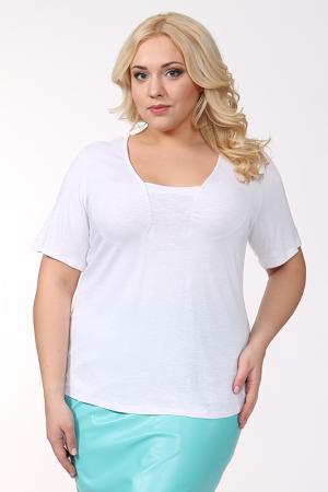 Блуза Shalle. Цвет: белый