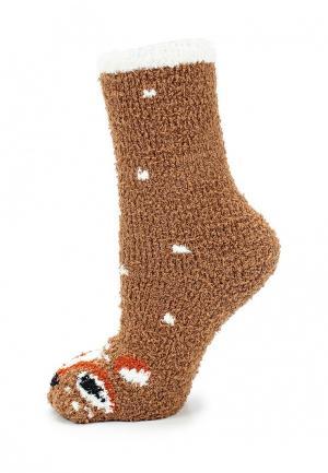 Носки Gap. Цвет: коричневый