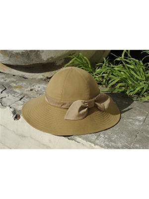 Шляпа Head Wear Studio. Цвет: светло-коричневый