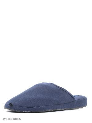 Тапочки De Fonseca. Цвет: темно-синий