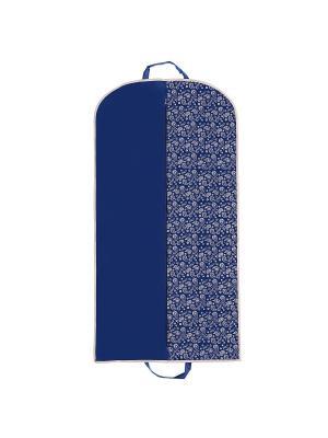 Чехол для одежды Paisley (120х60 см), синий Homsu. Цвет: синий, бежевый