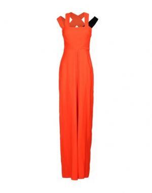 Длинное платье ROKSANDA. Цвет: оранжевый
