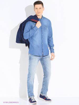 Куртка U.S. Polo Assn.. Цвет: голубой