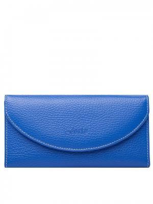 Кошелёк Forte. Цвет: голубой, синий