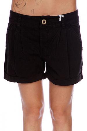 Шорты пляжные женские  Tilee Black Animal. Цвет: черный