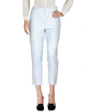 Повседневные брюки TARA JARMON. Цвет: небесно-голубой