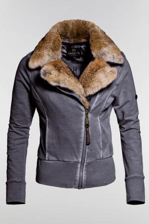 Куртка Goldbergh. Цвет: серый