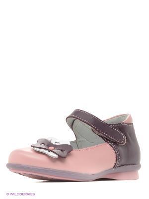 Туфли Детский скороход. Цвет: розовый, фиолетовый