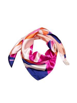 Платок шейный Модные истории. Цвет: розовый