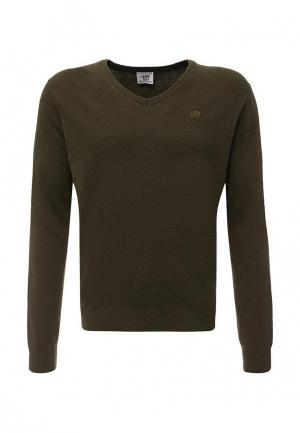 Пуловер Henry Cottons Cotton's. Цвет: зеленый