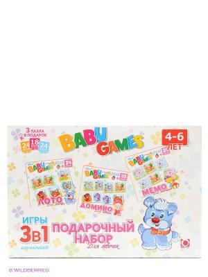 Игровой набор  3 в 1 FunGame. Цвет: белый