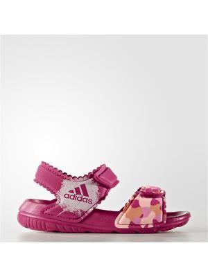 Сандалии дет. спорт. AltaSwim g I Adidas. Цвет: фиолетовый, оранжевый